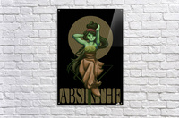 Green Fairy Absinthe Poster  Acrylic Print