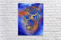 Dragissous V1 - blue dragon  Acrylic Print