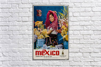 Mexico Flowers every day of the year  Acrylic Print