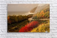 Autumn on the Cabot Trail  Acrylic Print