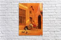 The Courtyard  Acrylic Print