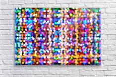 bokeh multicolor  Acrylic Print