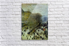 Boulevard of Capucines by Monet  Acrylic Print