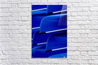 Blue Canoes  Acrylic Print