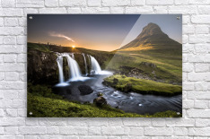 Fairy-Tale Countryside in Iceland  Acrylic Print