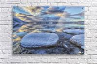 Kathleen Lake and Mount Worthington in Kluane National Park; Yukon, Canada  Acrylic Print