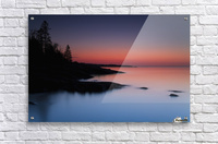 Dawn over the North Shore of Lake Superior, near Duluth; Minnesota, United States of America  Acrylic Print