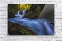 Spirit Falls; Washington, United States of America  Acrylic Print