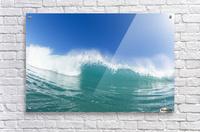 Blue Ocean Wave and Sunny Blue Sky  Acrylic Print