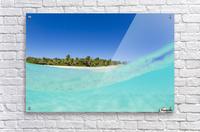 Tropical Island, Blue Sky and Beautiful Ocean  Acrylic Print