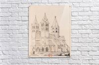Eglise de Guebwiller  Acrylic Print