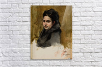 A young Oriental woman  Acrylic Print