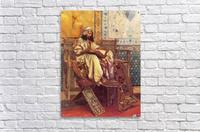 An Oriental man reading  Acrylic Print
