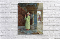 At prayer in the mosque  Acrylic Print