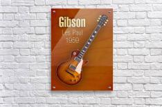Vintage Gibson Les paul 1959  Acrylic Print