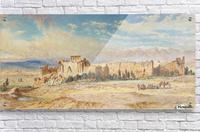 Ruines de Baalbeck  Acrylic Print