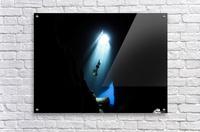 Dark cave  Acrylic Print