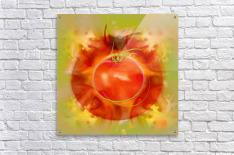 Illustration Of Tomato  Acrylic Print