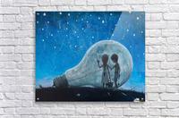 The Night We Broke The Moon  Acrylic Print