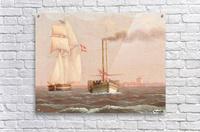 Danish paddle steamer  Acrylic Print
