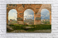 A View through Three of the North-Western Arches of the Third Storey of the Coliseum in Rome, 1815  Acrylic Print