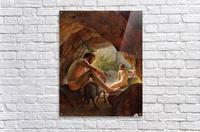 Odysseus flygter fra Polyfem  Acrylic Print