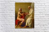 Socrates and Alcibiades  Acrylic Print