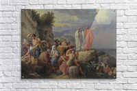 Israelites resting after the crossing of the Red Sea, 1815  Acrylic Print