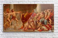 Ulysses revenge on Penelopes suitors  Acrylic Print