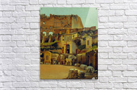 Interior of the Colosseum in Rome  Acrylic Print