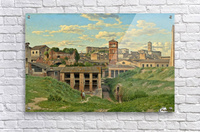 View of the Cloaca Maxima, Rome  Acrylic Print