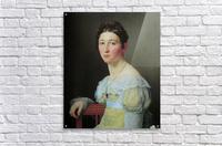 Portrait of Emilie Henriette Massmann  Acrylic Print