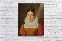 Portrait of Faktor Fjellerups Kone  Acrylic Print