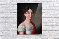 Portrait of Ida Mariane Brockenhuus  Acrylic Print