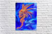 Essemios - furious dragon  Acrylic Print