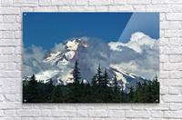 Clouded Peak-Mt Hood  Acrylic Print