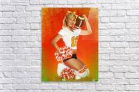 Lou Freeman©  Vintage Pin Up Girls 14622  Acrylic Print