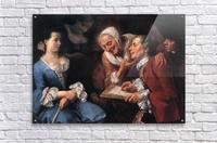 The sitting, 1754  Impression acrylique
