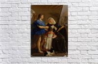 Saint Margaret of Cortona  Impression acrylique