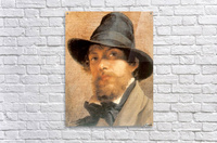 Self-portrait  Impression acrylique