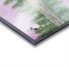 Pine reflections. Acrylic print