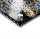 Super panoramic Amalfi City - Italy Acrylic print