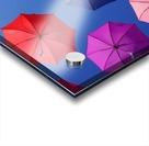 Colorful umbrella Acrylic print