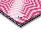 Pink Geometric Design Art Acrylic print