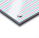 Pink _ Blue Star Seamless Pattern Artwork Acrylic print