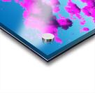Vivid Purple Cloudscape Acrylic print