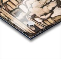 Production, design by Albin Egger-Lienz Acrylic print