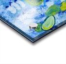 Bluebonnet cactus. Molly H Acrylic print