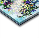 Impressionistic Flowers Burst Of Beauty Acrylic print