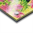 Pink Flowers in vase  Acrylic print